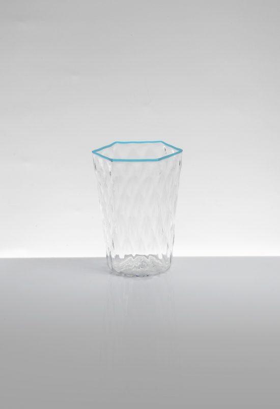 bicchiere acqua ballottòn azzurro