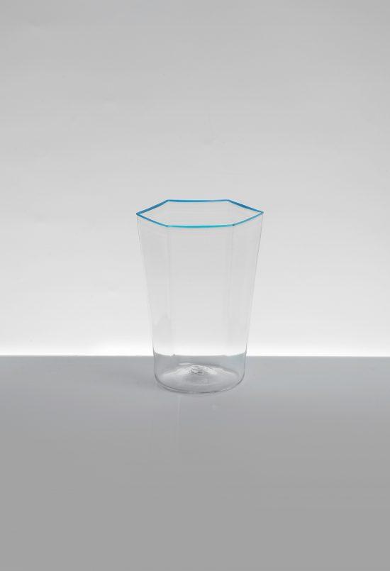 acqua esagonale liscio azzurro t