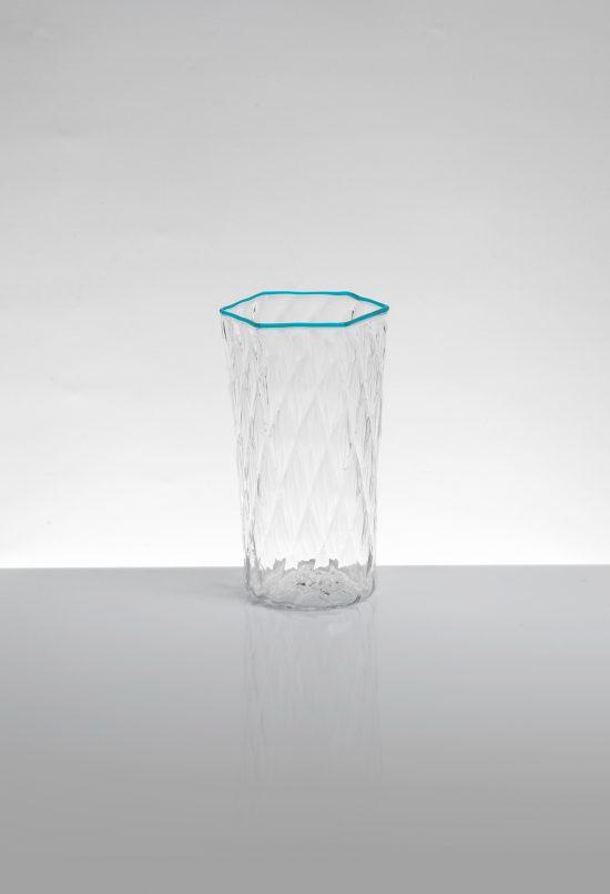bicchiere flute ballottòn azzurro