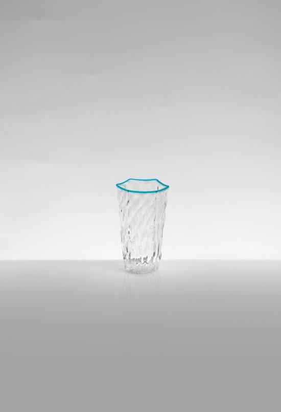 bicchiere rosolio ballottòn azzurro